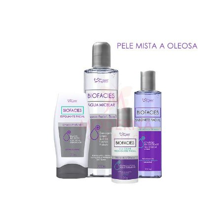 kit Biofacies Limpeza de Pele Mista a Oleosa Suave Fragrance