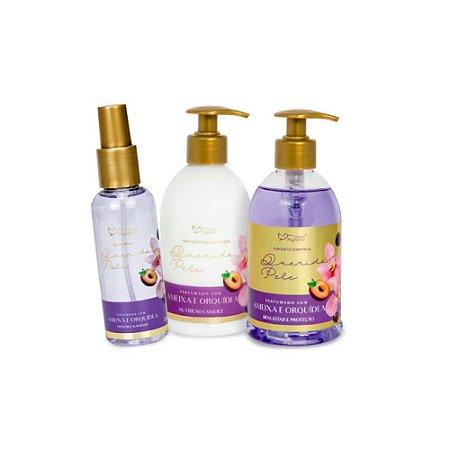 Linha Querida Pele Hidratante Sabonete Corporal Ameixa e Orquídea
