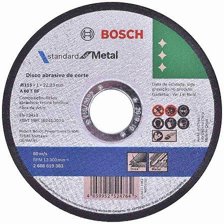 "Disco de Corte Inox 4,5""x 1,0mm /2608619383"