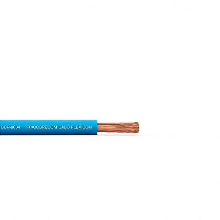 Cabo Flexivel 1,50mm/750v Azul 100 Metros