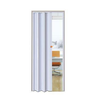 Porta Pvc Sanfonada  60cm Branca