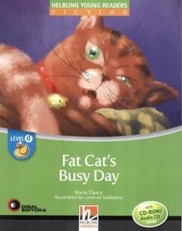 Fat Cat's Busy Day. Level D (+ CD-ROM/Audio CD)