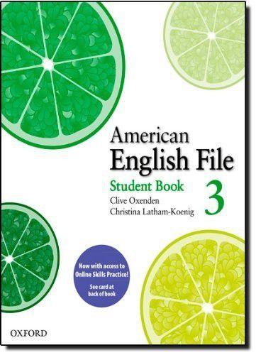 American English File 3 - Student's Book