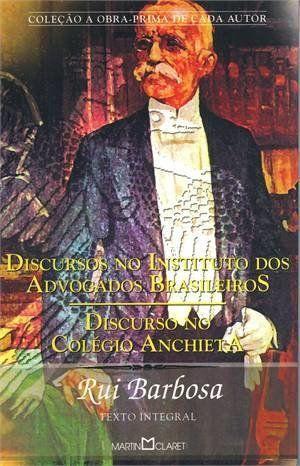 Discurso No Instituto Dos Advogados Brasileiros