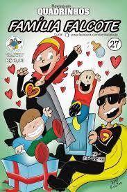 Quadrinhos Família Falcote - 27