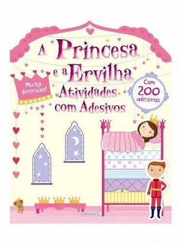 Atividades Com Adesivos - A Princesa E A Ervilha