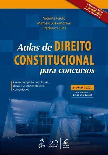 Aulas De Direito Constitucional Para Concursos 2ED