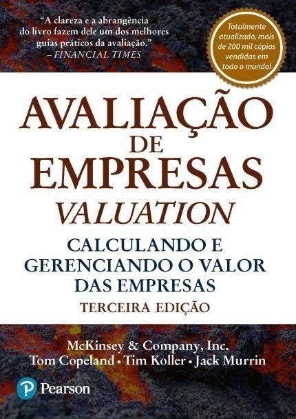 Avaliação De Empresas Valuation - 3 ED