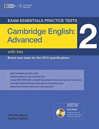 Cambrigde Advanced Practice Tests 2 With DVD-ROM