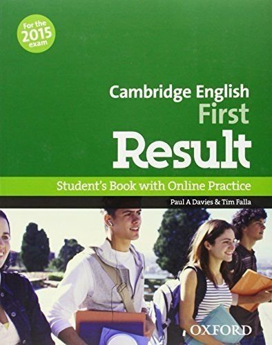 Cambridge English First Result