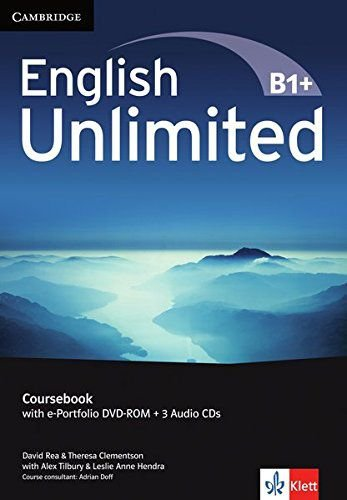 English Unlimited Coursebook B1+