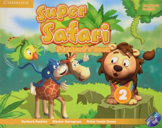 Super Safari Level 2 Student's Book [With DVD]