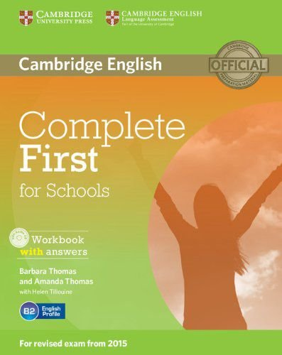 Complete First For Schools Workbook With Answers