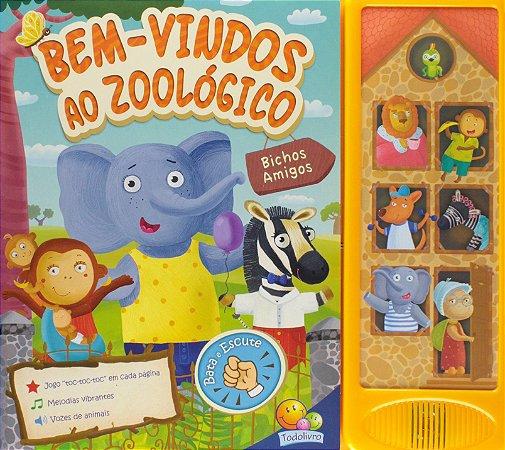 Bem Vindos Ao Zoológico - Coleção Bichos Amigos