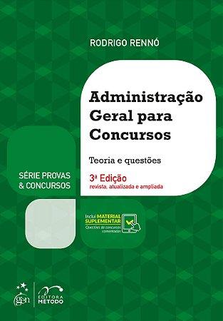 Série Provas & Concursos-Administração Geral Para Concursos