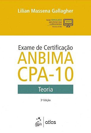 Exame de certificação ANBIMA CPA-10 - Teoria