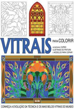 Vitrais Para Colorir