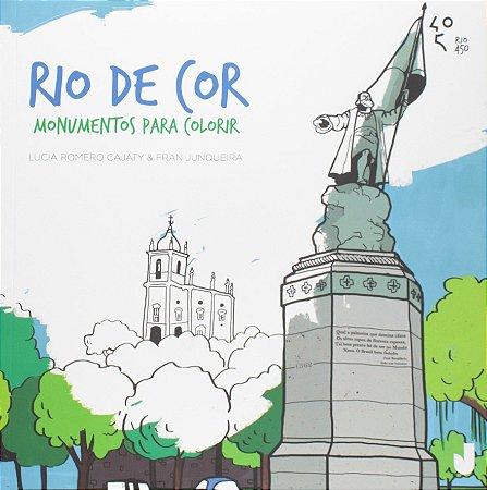 Rio De Cor. Monumentos Para Colorir