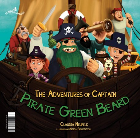 As Aventuras Do Capitão Pirata Da Barba Verde