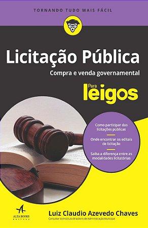 Licitação pública para leigos