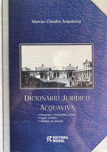 DICIONARIO JURIDICO ACQUAVIVA