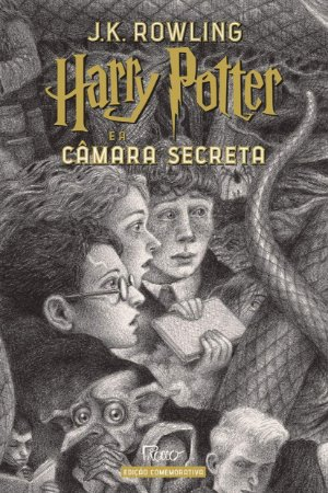 HARRY POTTER E A CÂMARA SECRETA (CAPA DURA) – Edição Comemorativa dos 20 anos