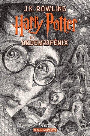 HARRY POTTER E A ORDEM DA FÊNIX (CAPA DURA) – Edição Comemorativa dos 20 anos da Coleção Harry Potter