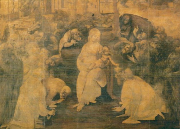 Cartão Adoration of the Magi