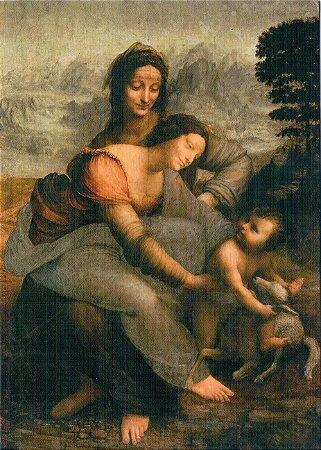 Cartão Virgin and Child