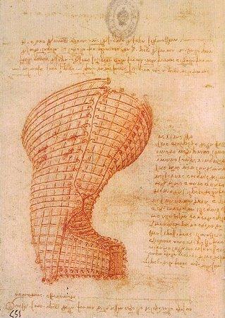 Cartão Design of the Casting Mould for the Head of the Sforza Horse