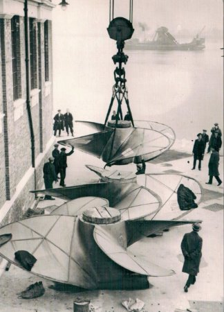 Cartão Propellers for R.M.S