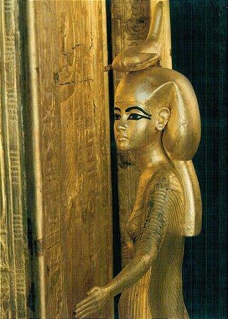 Cartão Tutelary deity of Tutankhamun's tabernacle