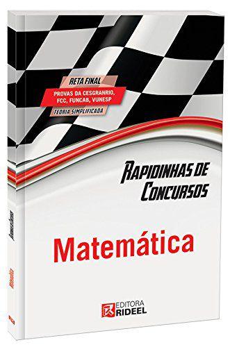 Rapidinhas de Concursos. Matemática