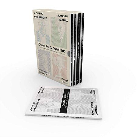 BOX - Quatro x Quatro: Reflexões para bem pensar, bem sentir, bem agir e bem viver