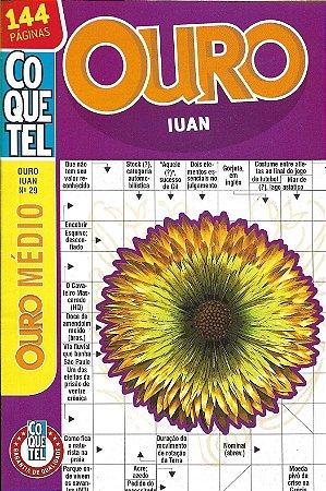 Palavras Cruzadas Coquetel Ouro Iuan nº 29 - 144 páginas