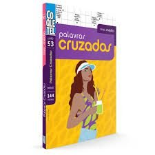 LIVRO COQUETEL PALAVRA CRUZADA MÉDIO-0053