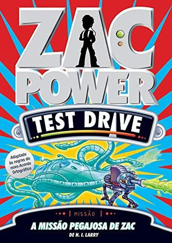 Zac Power Test Drive 04 - A Missão Pegajosa De Zac