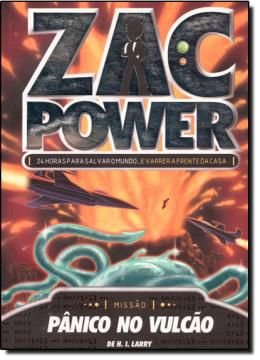Zac Power 14 - Pânico No Vulcão
