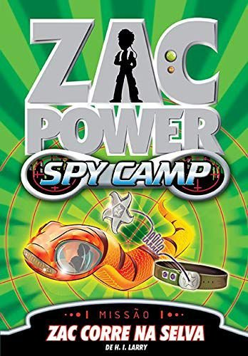 Zac Power Spy Camp - Zac Corre Na Selva