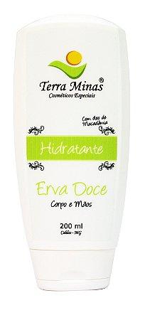 Hidratante Erva Doce - 200 ml