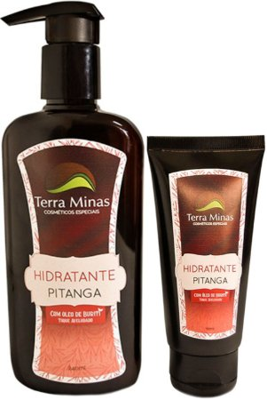 Hidratante Pitanga - Toque aveludado com óleo de Buriti