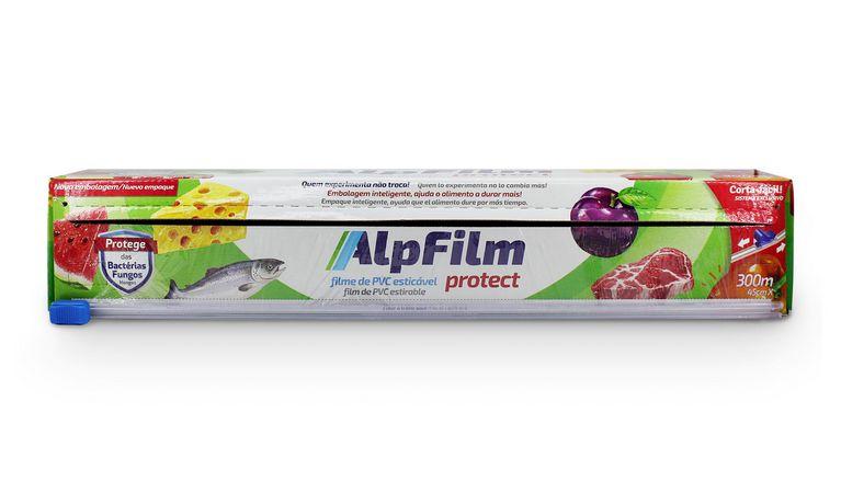 Combo Protect Trilho G  Tamanho Família - (6 unidades Filme PVC Caixa Trilho - 45cm x 300m)