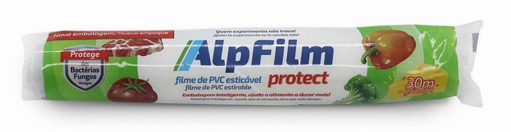 Filme PVC - Plástico Filme Esticável Doméstico Clássico 30m x 28cm