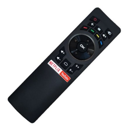 Controle Remoto Tv Multilaser Smart Rc3442108/01 Tl002 Tl006