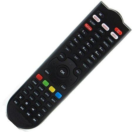 Controle Remoto Receptor Eurosat Pro