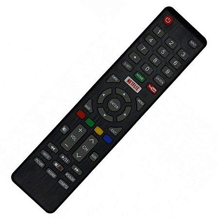 Controle Remoto Smart TV Cobia LED CTV39HDSM