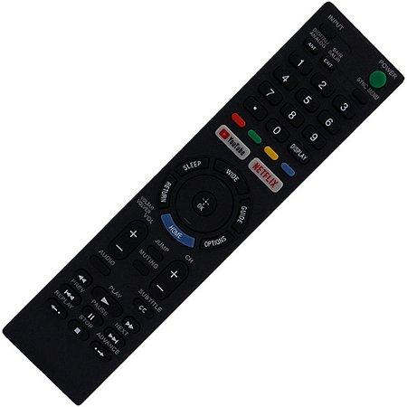 Controle Remoto TV LED Sony KD-55X706E  com Youtube e Netflix