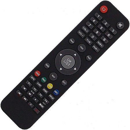 Controle Remoto Receptor Americabox S205+ Plus HD