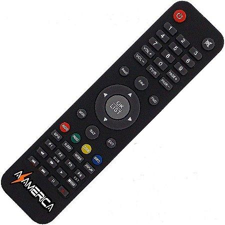 Controle Remoto Receptor Azamérica S1001 HD