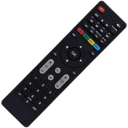 Controle Remoto Receptor Neonsat Colors Tron HD
